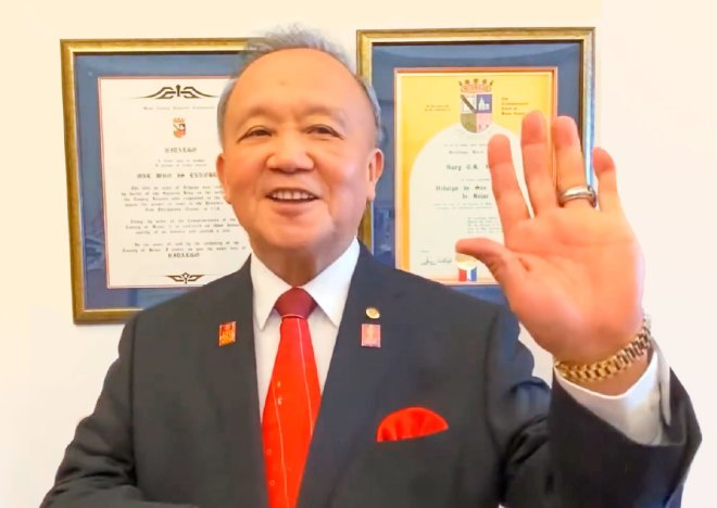 Trustee Chair Gary Huang