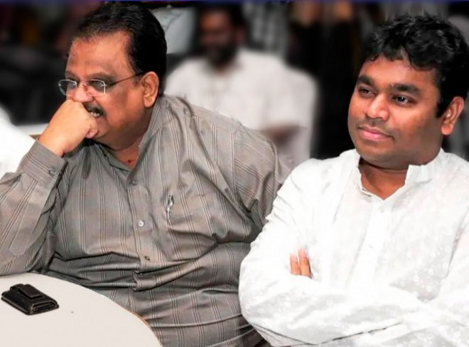 With AR Rahman.