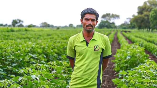 A successful farmer in Parli.
