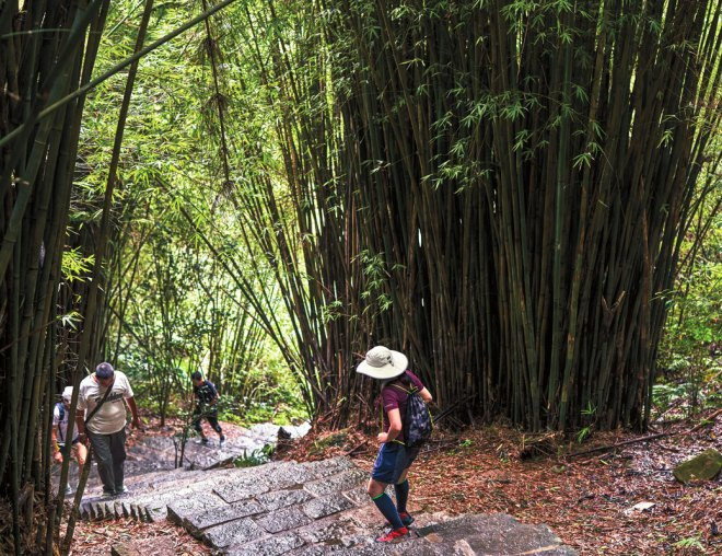 An extinct, 2,021-foot-tall volcano, Guanyinshan offers well-maintained hiking trails. After a rigorous climb, enjoy stunning views of the Tamsui River and the Taipei skyline.