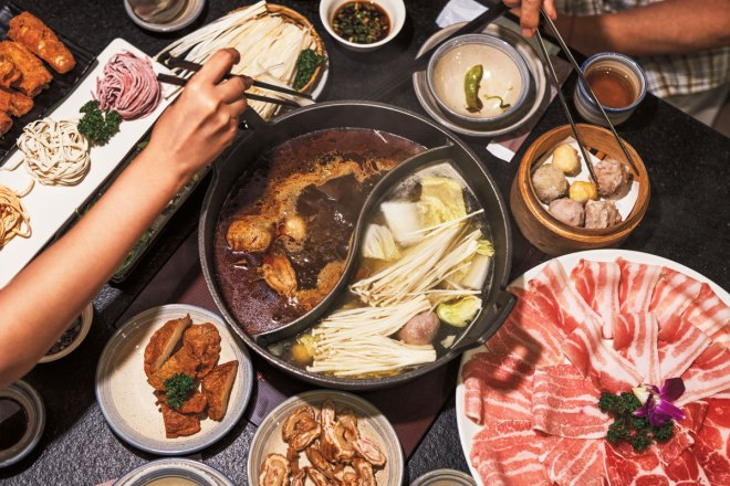 Sharing hot pot is a culinary adventure — and a great way to make new friends.