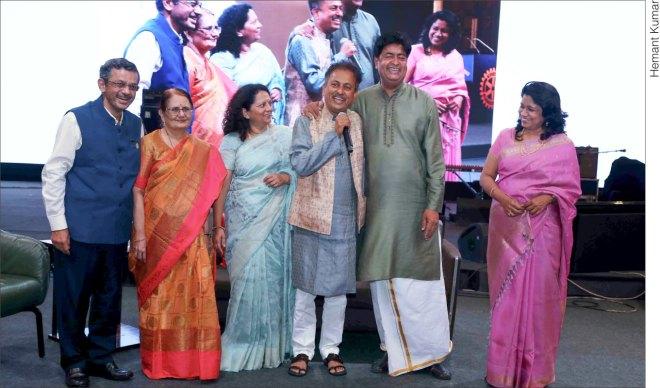 From L: RID Bharat Pandya, Madhavi, Amita, RIDE Mahesh Kotbagi, RIDE A S Venkatesh and Vinita.