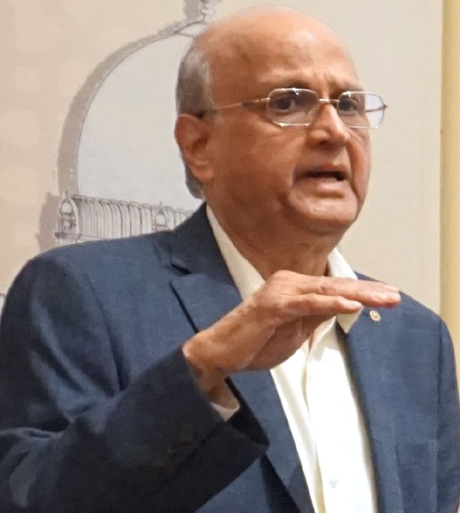 TRF Trustee Gulam Vahanvaty