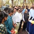 Rotary constructs check dam at Bandipur