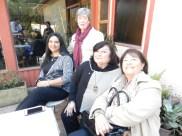 Elizabeth Araos, Erika Stuven, Gabriela Marin y Yolanda Pablo