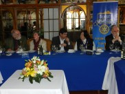Noel Fontanes, Erika Stuven, Luis Alberto Cordova, Oriana Diaz y Nelson Pardo