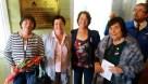 Yolanda Pablo, Luzgrady Hernández, Isabel Leiva y Oriana Díaz