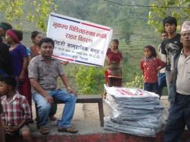 RCC of Chandi-Bhanjyang in action