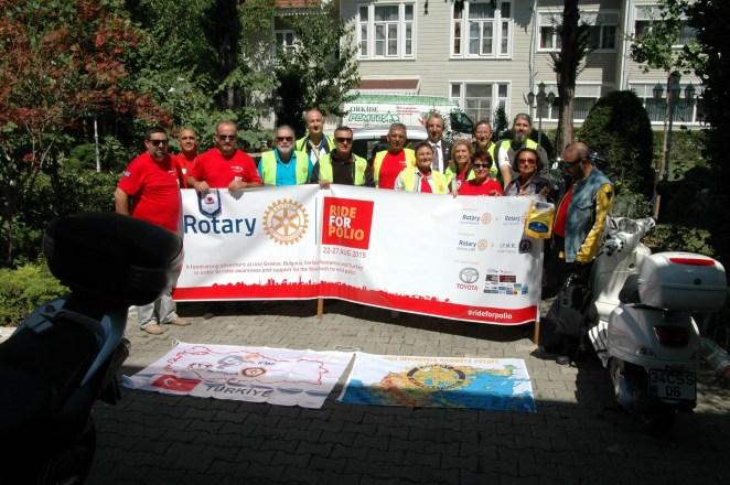 International Fellowship of Motorcyling Rotarians Turkey Chapter