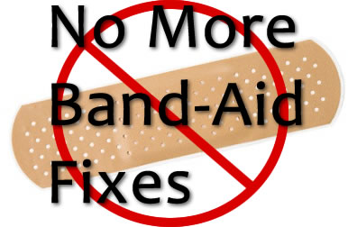 golf band-aid fix