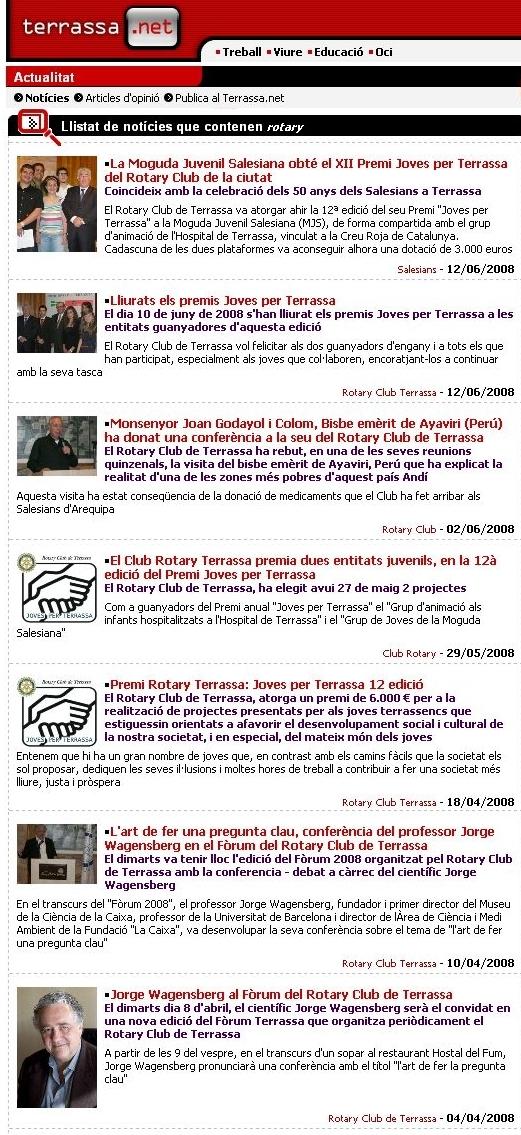 Noticies del 2008 al terrassa.net