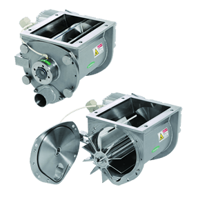 Special Edge Machined Rotary Valves in Powder metering applications