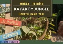 Kayaköy Jungle Camping - Fethiye Kamp Alanları