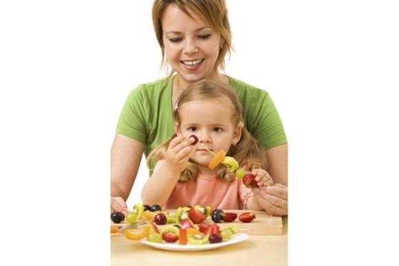 fruit en kinderen