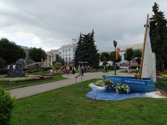 Yaroslavl'da merkez park