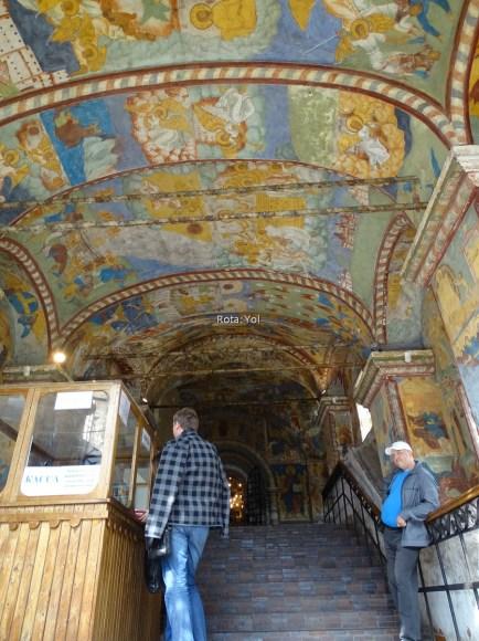 İlyas P. Kilisesi'nin tavanları