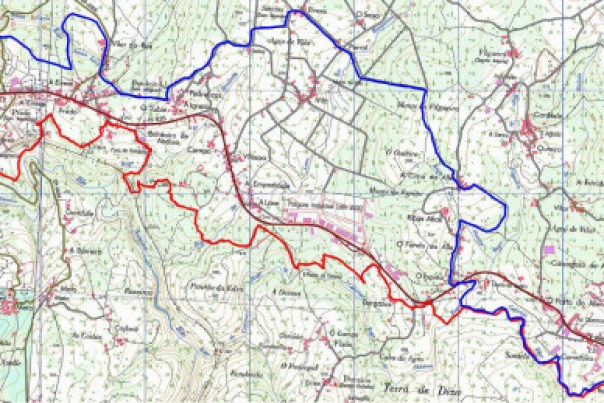 Mapa e Perfil Curto Pte Taboada
