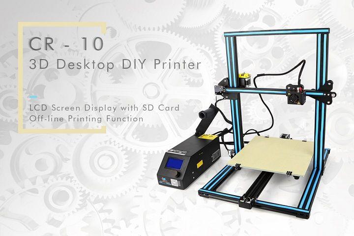 Creality 3D CR-10 : une imprimante 3D à monter soi-même !