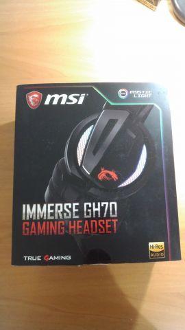 MSI Immerse GH70 packaging haut de gamme