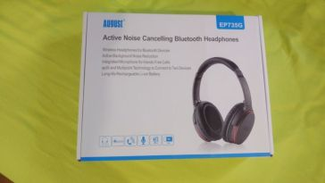 August EP 735 packaging casque audio