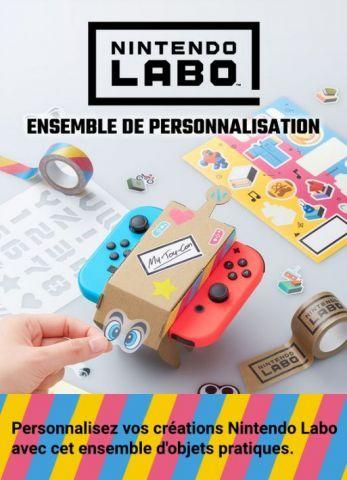 ensemble de personnalisation de Nintendo Labo