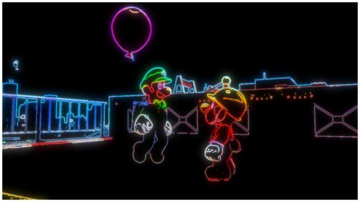 Filtre néon Super Mario Odyssey