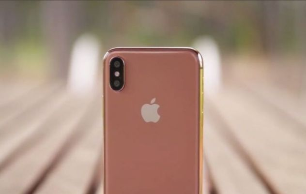 iphone x couleur or