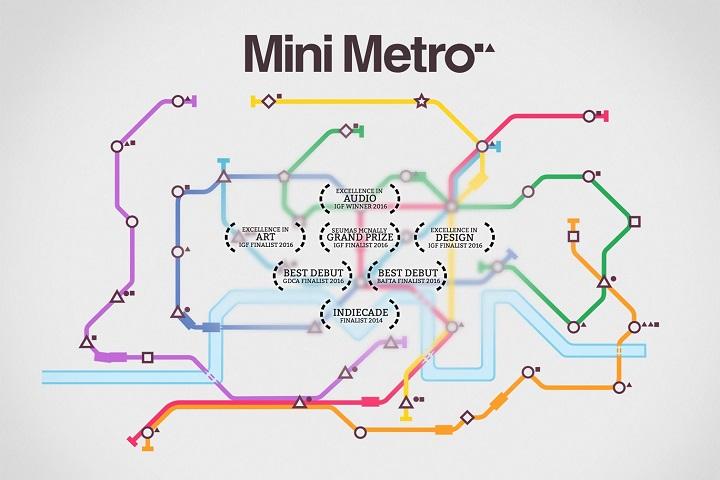 Mini Metro : un jeu de réseau de transports en commun à votre image !