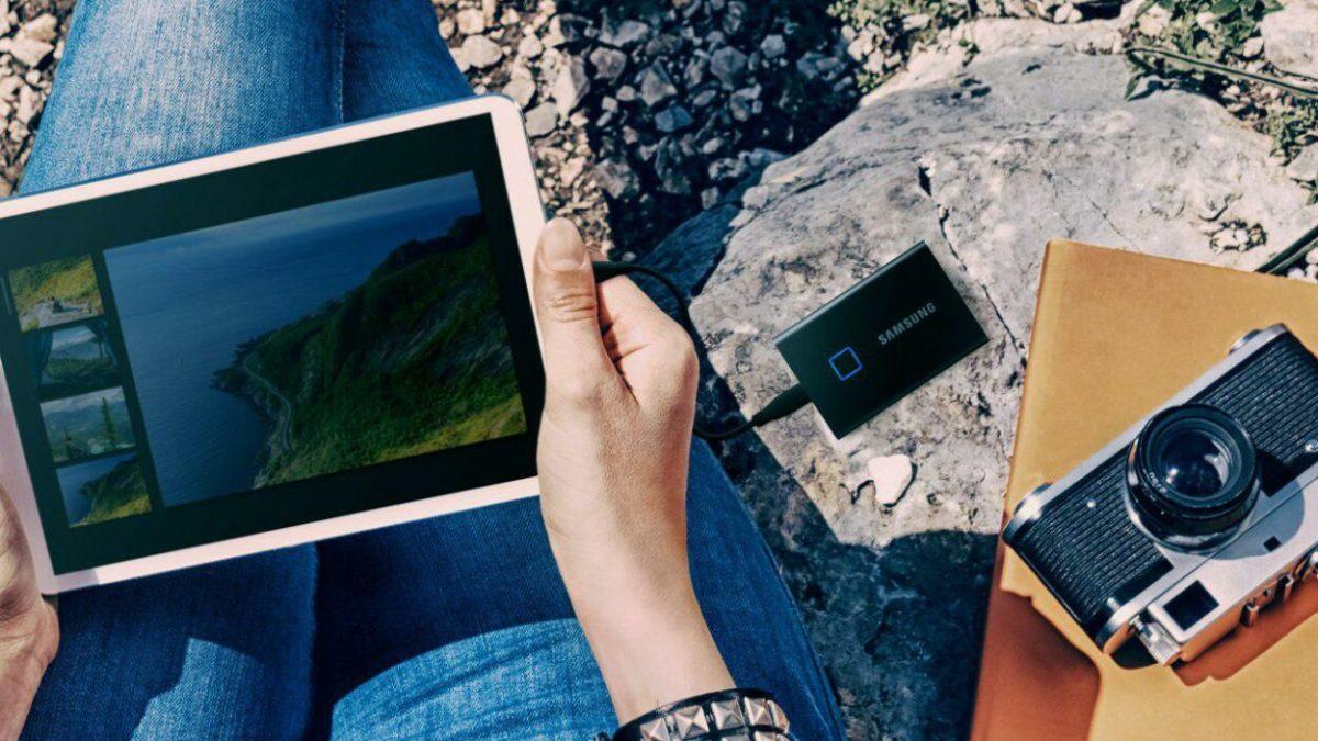 CES 2020 : Samsung présente son SSD portable T7 Touch