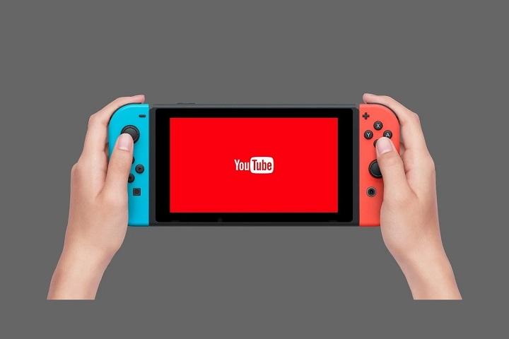 YouTube bientôt sur Nintendo Switch ?