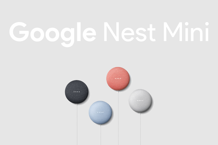 Nest Mini – La nouvelle enceinte connectée de Google