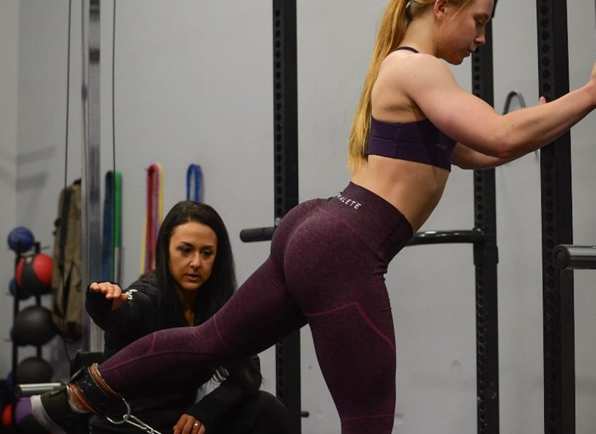 Amy Howe and client training