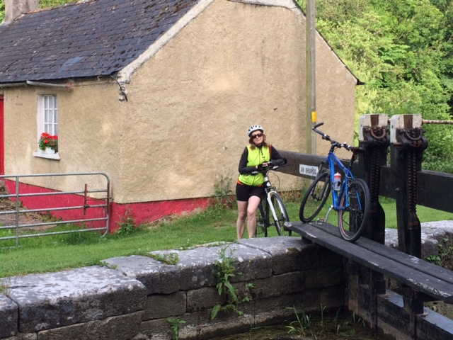Mary at Ballytiglea Lock