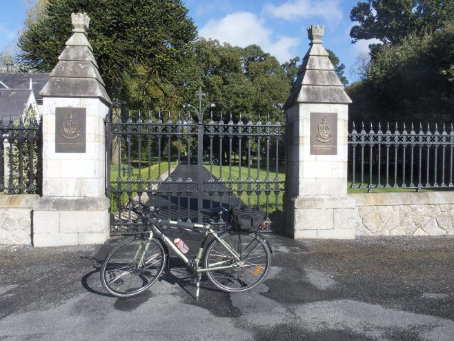 Humewood Castle entrance