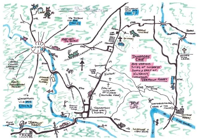 kilkenny-tourist-map