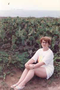 mom in the cacti, Isla Mujeres