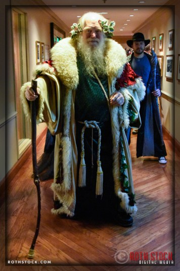 Jay Smith as The Holly King at the 18th Annual Labyrinth Of Jareth Masquerade Ball