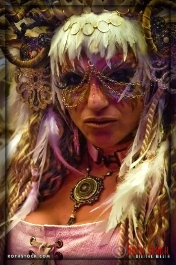 Wendy Waagenaar attends the 18th Annual Labyrinth Of Jareth Masquerade Ball