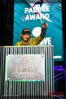 Jamie Mitchell wins the Paddle Award