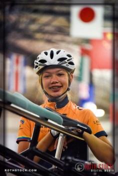 Cyclist Kayla Novak