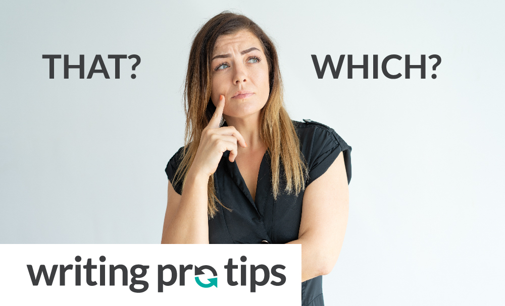 When should you say 'that,' and when should you say 'which'?