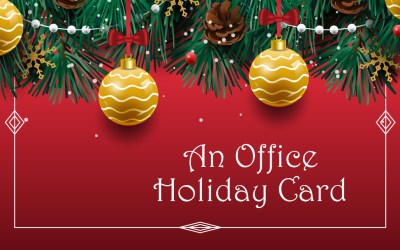 7 things to keep in mind about your office's holiday card