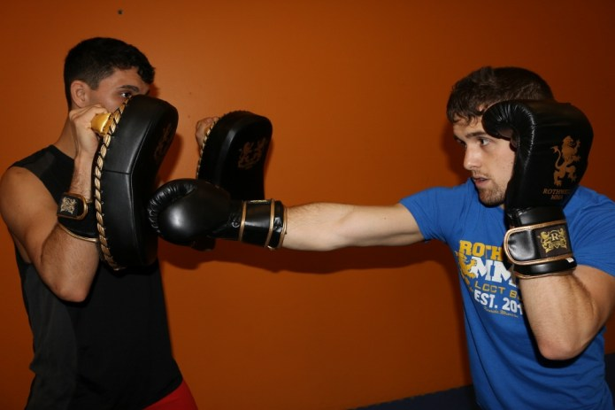 Kickboxing, Cross