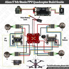 Fpv Racing Drone Wiring Diagram How To Wire A Double Light Switch Mr Steele Flavored Alien 5 Quot