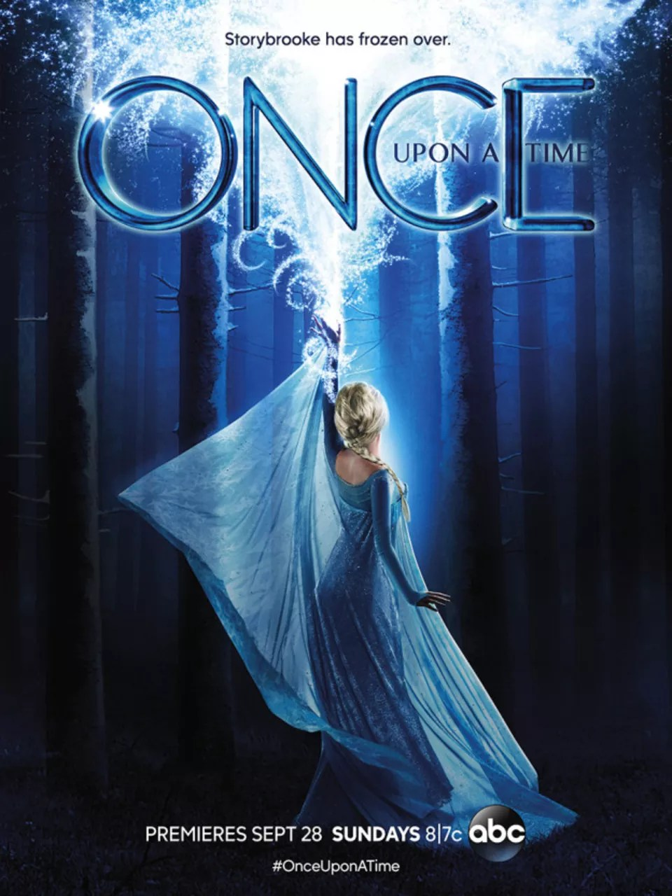 Once Upon A Time Elsa : FROZEMBER], Remembering, Frozen, Season, ABC's, 'Once, Time', Rotoscopers