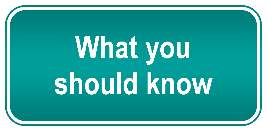 An Update Regarding 'what You Should Know' For 2017