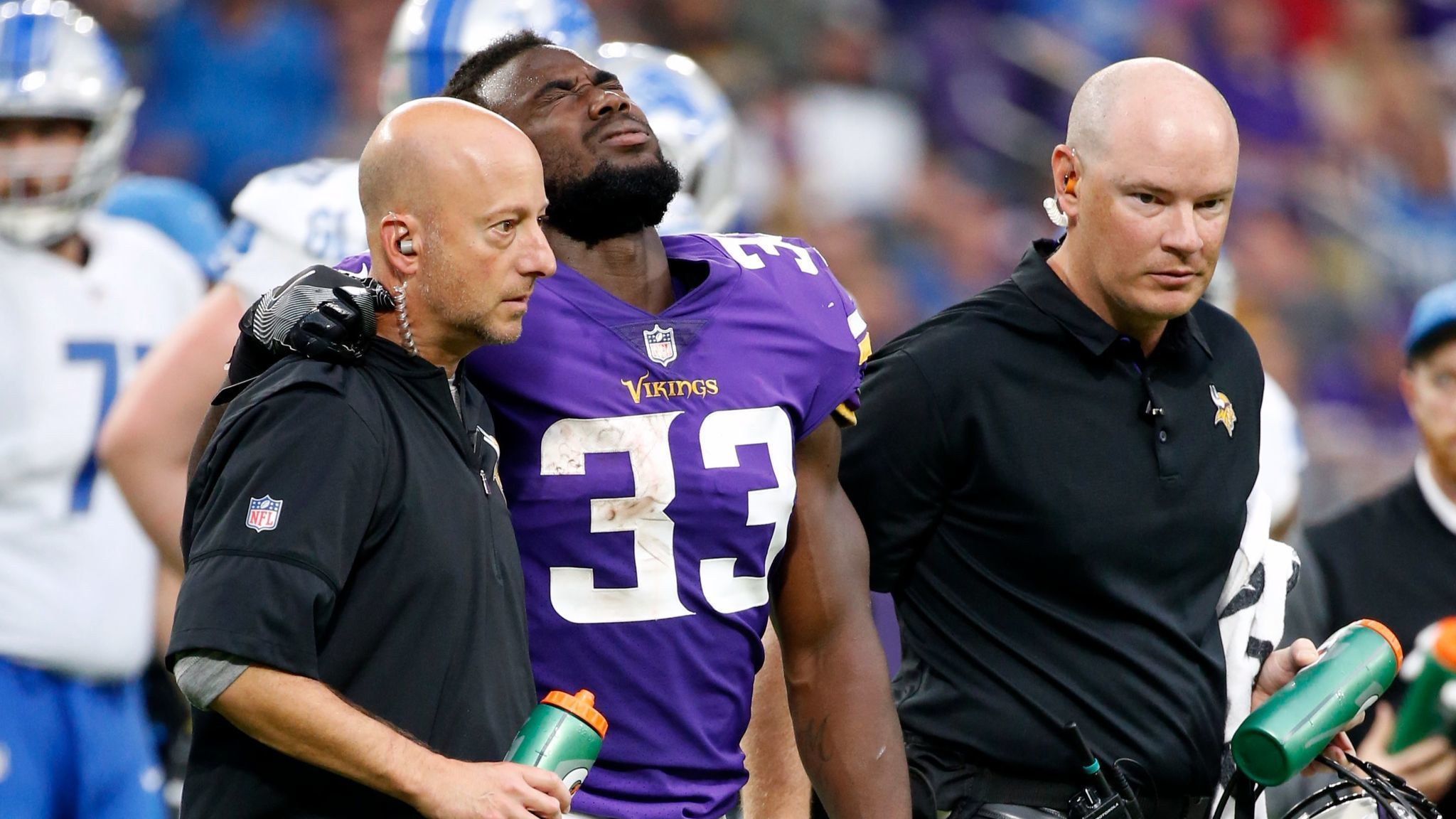Image result for dalvin cook torn acl