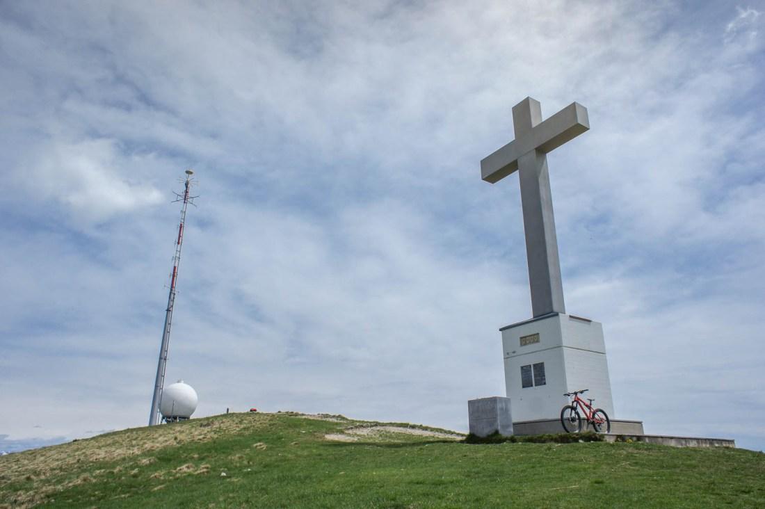 Gipfelkreuz auf dem Monte Lema