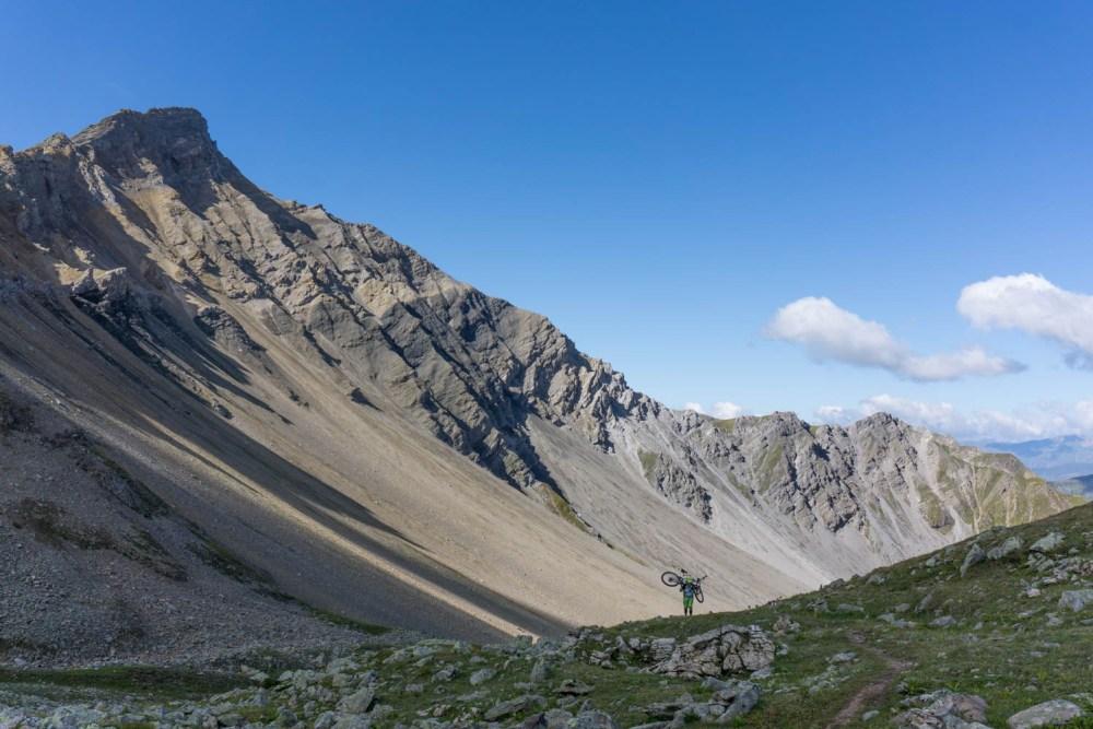 Die schönen Berge entschädigen für die Strapazen