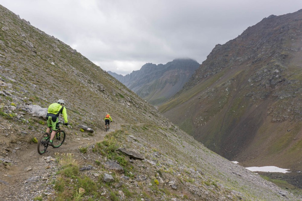 Trail vom Gredigs Fürggli nach Arosa
